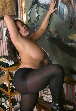 Huge Boobs Pantyhose Pics